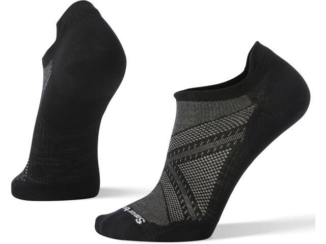Smartwool Run Zero Cushion Low Ankle Socks, negro